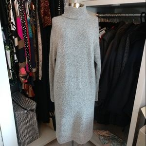 NWT H&M Long Sleeve Turtleneck Mohair/Wool Knit